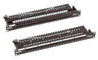 Коммутационные панели (патч-панели) обеспечивают коммутацию кабельной систе